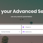 Custom search types and submit options in Wp Rentals