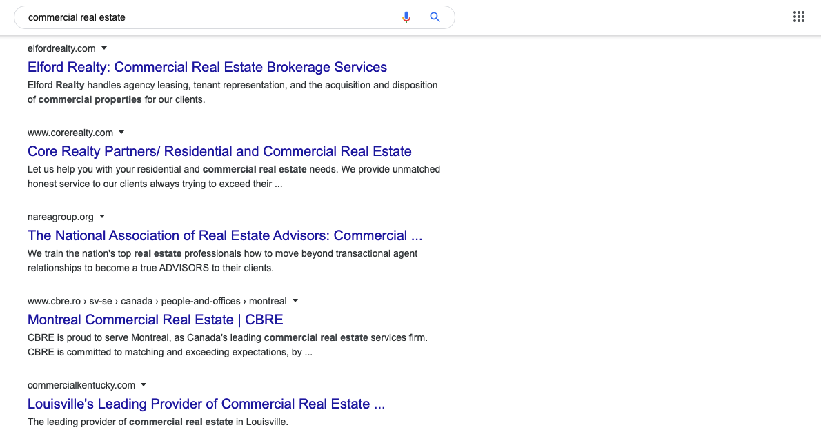 The Best SEO Keywords for Real Estate in 2020