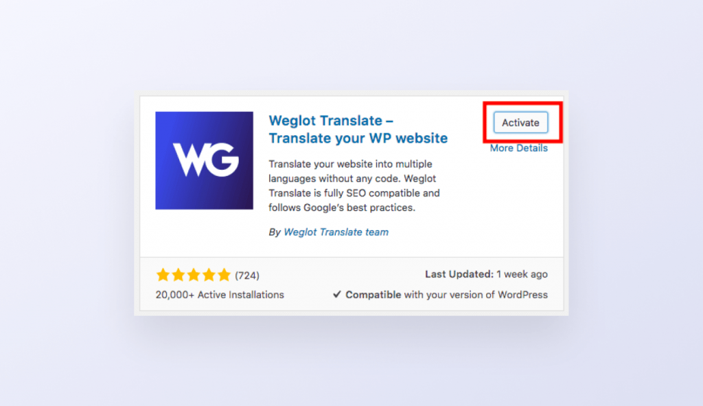How to translate your WP Rentals theme with Weglot