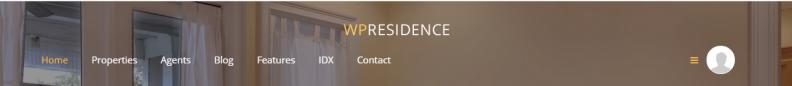Transparent header