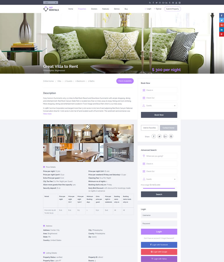 How to build your vacation home rental property website in a few steps